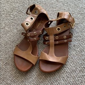 Cole Haan gladiator sandals with Nike Air sole
